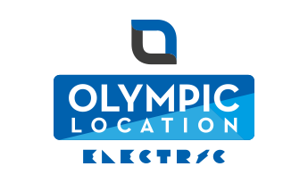 Olympic location Electric Logo